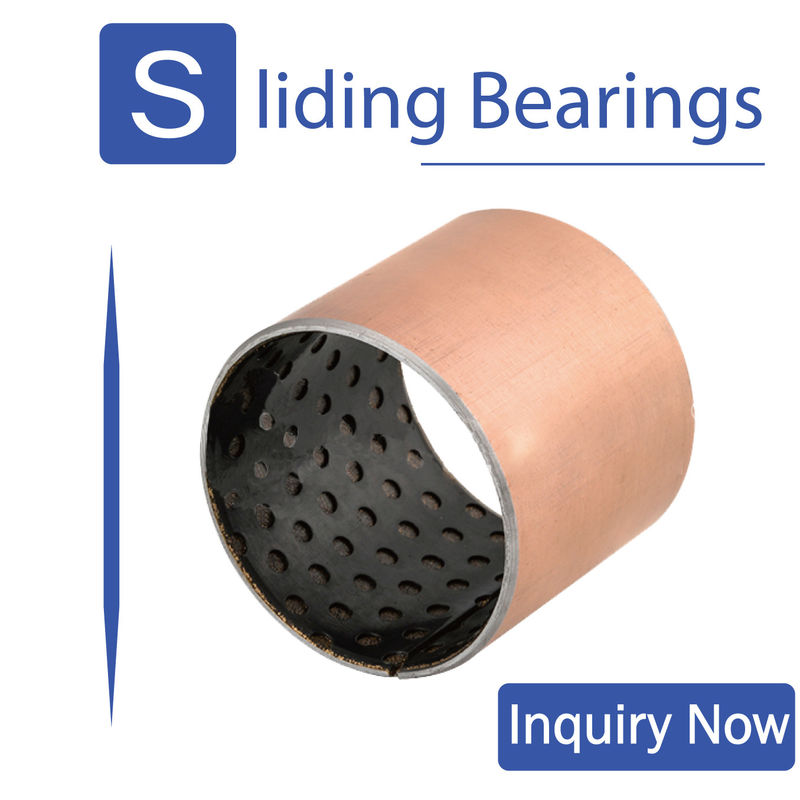 ISO 9001 Dry Self Lubricating Bearings , Pom Bushing For Mining Machinery